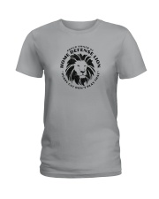 Home Defense Lion Ladies T-Shirt thumbnail