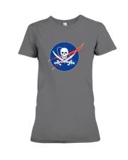 Space Pirate Premium Fit Ladies Tee thumbnail