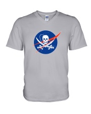 Space Pirate V-Neck T-Shirt thumbnail