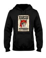 Pirate Cat Wanted  Hooded Sweatshirt thumbnail