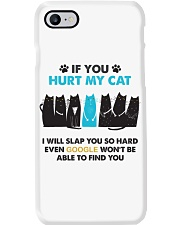 Unlimited Edition - If you hurt my cat Phone Case thumbnail