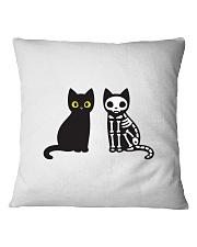 Halloween Cat Cutie Square Pillowcase thumbnail