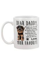 yourkie lover Mug back