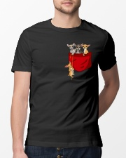Chihuahua Inside Pocket Shirt Classic T-Shirt lifestyle-mens-crewneck-front-13