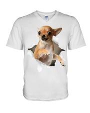 Chihuahua V-Neck T-Shirt front