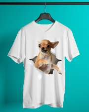 Chihuahua V-Neck T-Shirt lifestyle-mens-vneck-front-3