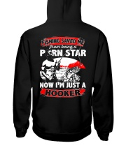 Fishing Saved Me From Being A Porn Star Hooded Sweatshirt thumbnail