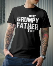 best grumpy father ever Classic T-Shirt lifestyle-mens-crewneck-front-6
