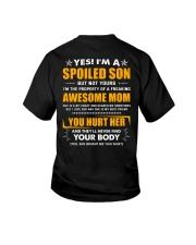 I'm a spoiled son of a freaking awesome mom Youth T-Shirt thumbnail