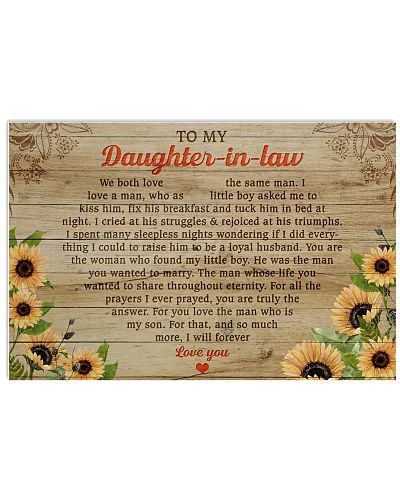 To my daughter in law Mom love you
