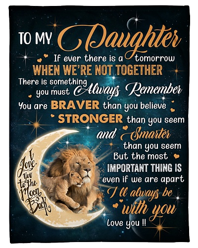 To My Daughter If ever there is a tomorrow Family