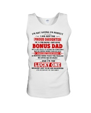 I'm Just The Proud Daughter Of Awesome Bonus Dad Unisex Tank thumbnail