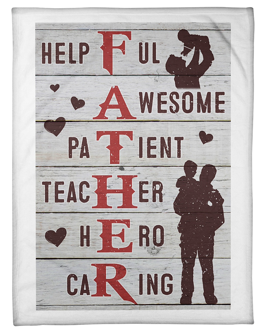 "The big Daddy helpful awesome patient teacher hero Small Fleece Blanket - 30"" x 40"""