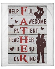 "The big Daddy helpful awesome patient teacher hero Fleece Blanket - 50"" x 60"" thumbnail"
