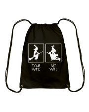 Your Wife My Wife Drawstring Bag thumbnail