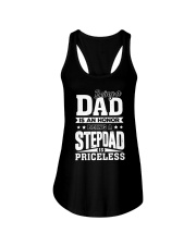 being step dad is priceless Ladies Flowy Tank thumbnail