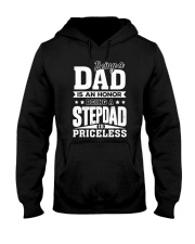 being step dad is priceless Hooded Sweatshirt thumbnail
