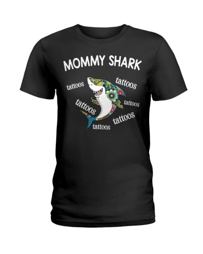 Mommy Shark Tattoos Shark