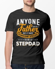 Father someone special to be a stepdad Classic T-Shirt lifestyle-mens-crewneck-front-13