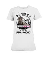 Mamasaurus  Premium Fit Ladies Tee thumbnail