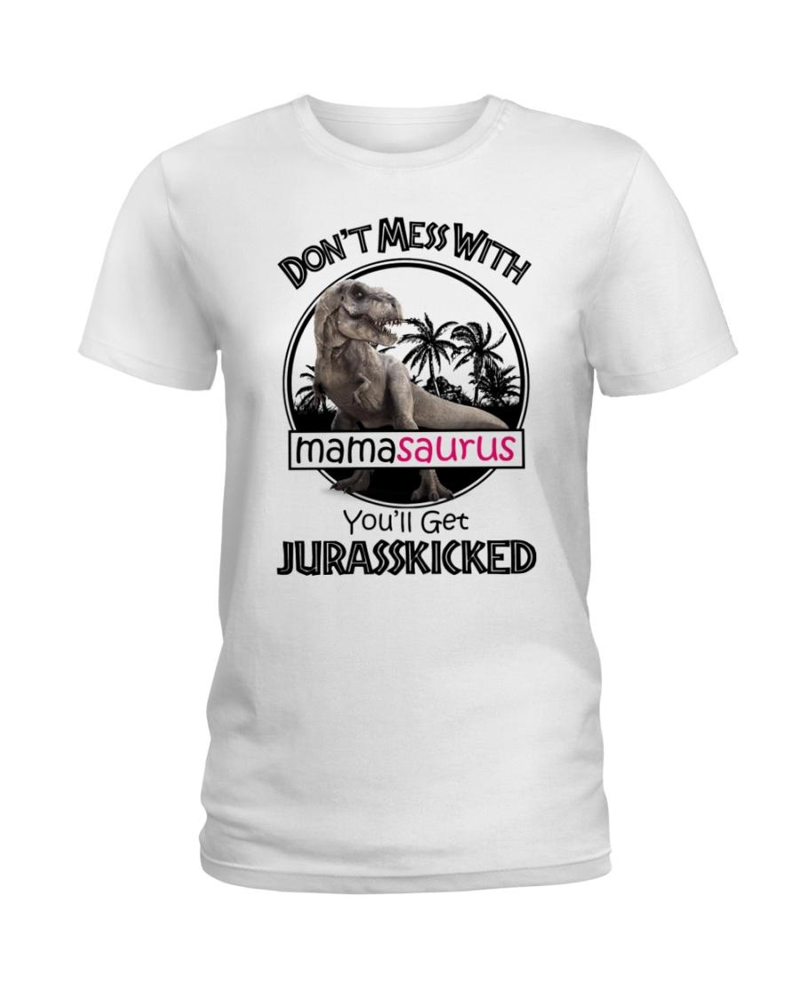Mamasaurus  Ladies T-Shirt
