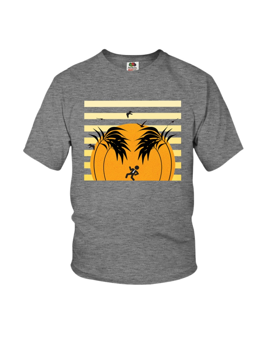 Quittin' Time Sunset Youth T-Shirt