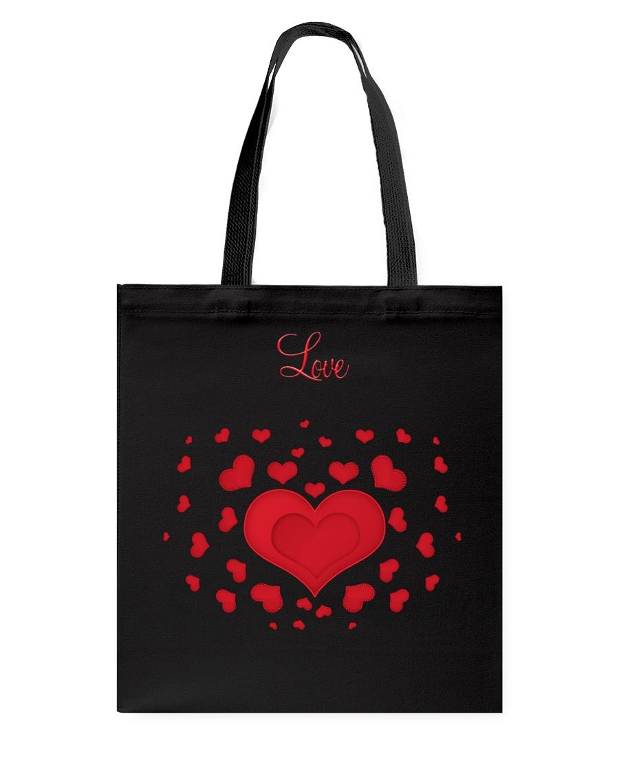 Hearts and Love Tote Bag