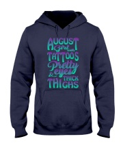 AUGUST GIRL WITH TATTOOS Hooded Sweatshirt thumbnail