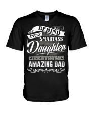 AMAZING DAD V-Neck T-Shirt thumbnail