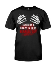 TAKEN BY A CRAZY and  SEXY BEARDED GUY Classic T-Shirt thumbnail