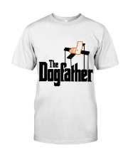 The Dogfather Classic T-Shirt front