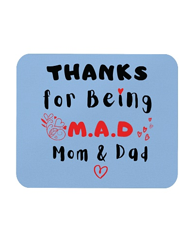 Thanks For Being MAD Mom And Dad Mouse