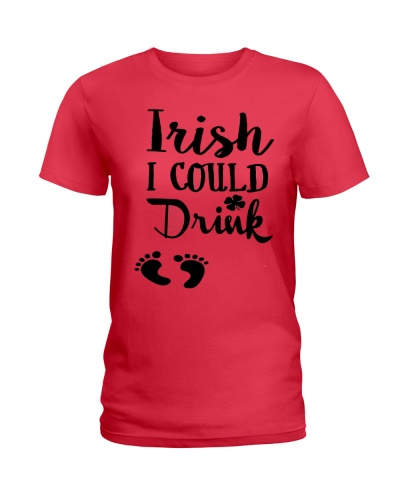 Irish I could drink - mommy to be