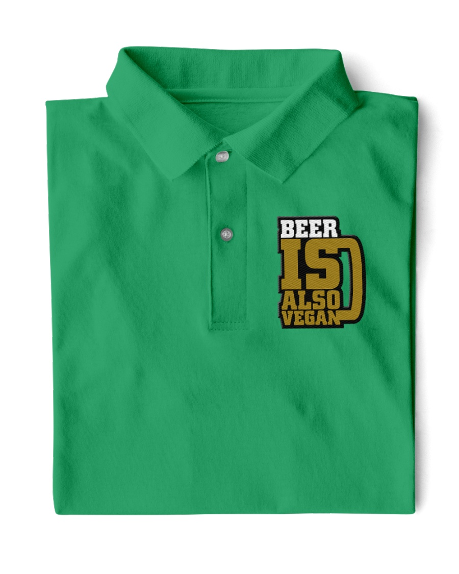 BEER IS ALSO VEGAN Classic Polo