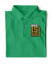 BEER IS ALSO VEGAN Classic Polo front