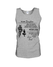 Make it the meaningful message to your daughter Unisex Tank tile