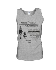 Make it the meaningful message to your daughter Unisex Tank thumbnail