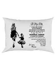 Make it the meaningful message to your daughter Rectangular Pillowcase front