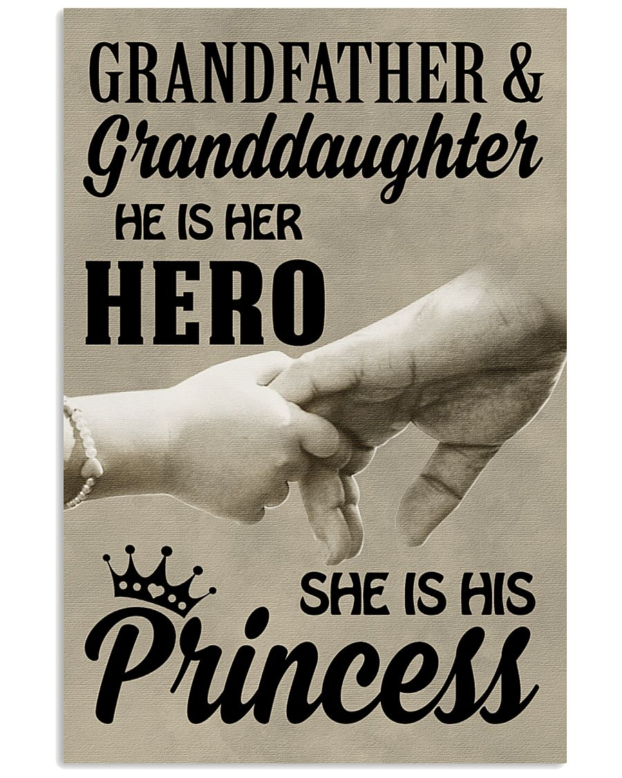 let it show your love to your granddaughter 11x17 Poster