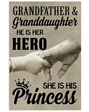 let it show your love to your granddaughter 11x17 Poster front