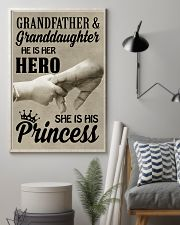 let it show your love to your granddaughter 11x17 Poster lifestyle-poster-1
