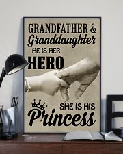 let it show your love to your granddaughter 11x17 Poster lifestyle-poster-2