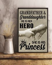 let it show your love to your granddaughter 11x17 Poster lifestyle-poster-3