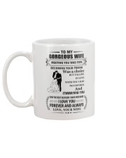 Make it the meaningful message to your husband Mug back