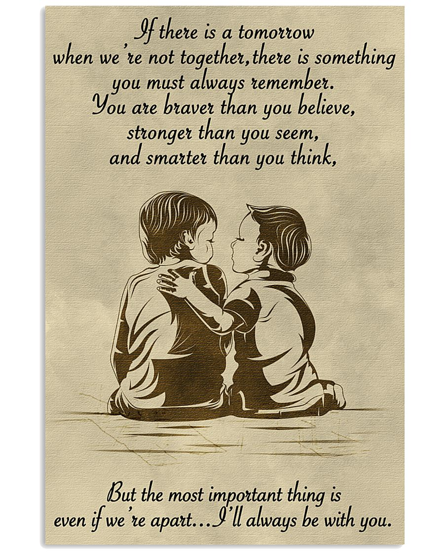 Make it the meaningful message to your brother 11x17 Poster