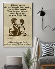 Make it the meaningful message to your brother 11x17 Poster lifestyle-poster-1