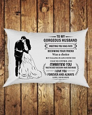 Make it the meaningful message to your husband  Rectangular Pillowcase aos-pillow-rectangle-front-lifestyle-2
