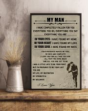 Make it the meaningful message to your man 11x17 Poster lifestyle-poster-3