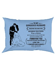 Make it the meaningful message to your Husband Rectangular Pillowcase front
