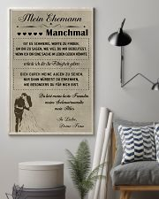 Make it the meaningful message to your husband DE 11x17 Poster lifestyle-poster-1